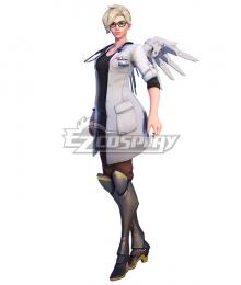 Overwatch OW Dr. Mercy Skin Mercy Angela Ziegler Cosplay Costume