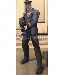 Overwatch OW Formal Uniform Soldier 76 Cosplay Costume
