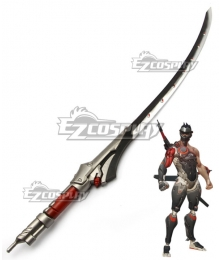 Overwatch OW Genji  Carbon Fiber Skin Cosplay Weapon Prop