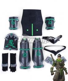 Overwatch OW Genji Shimada Sparrow Armor Cosplay Accessory Prop
