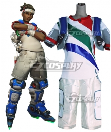 Overwatch OW Lucio DJ Summer Games Striker Cosplay Costume