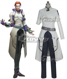 Overwatch OW Moira Cosplay Costume