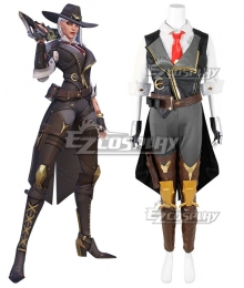Overwatch OW New Hero Ashe Cosplay Costume - No Prop