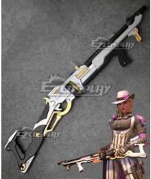 Overwatch OW New Hero Ashe Ganster Mobster Cosplay Weapon Prop