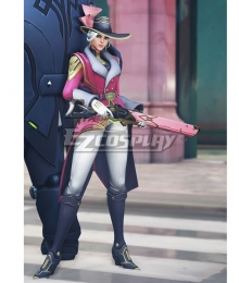 Overwatch OW New Legendary Storm Rising Ashe Cosplay Costume