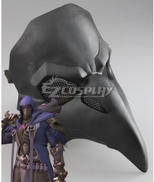 Overwatch OW Reaper Gabriel Reyes Nevermore Skin Mask Cosplay Accessory Prop