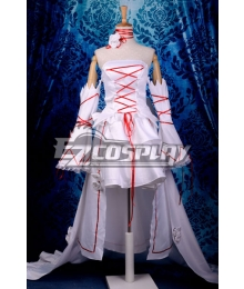 Pandora Hearts White Rabbit Alice Deluxe Cosplay Costume