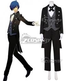 Persona 3: Dancing Moon Night Yuki Makoto Minato Arisato Butler Suit Cosplay Costume