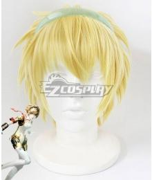 Persona 3 P3 Aigis Golden Cosplay Wig
