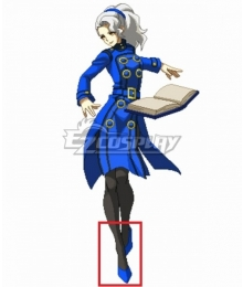 Persona 4 Megami Tensei Margaret Blue Cosplay Shoes