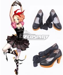 Persona 5: Dancing Star Night Haru Okumura Black Cosplay Shoes