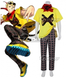Persona 5: Dancing Star Night Ryuji Sakamoto Cosplay Costume