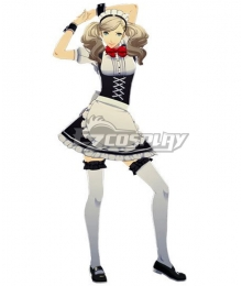 Persona 5 Halloween Maid Ann Takamaki Cosplay Costume