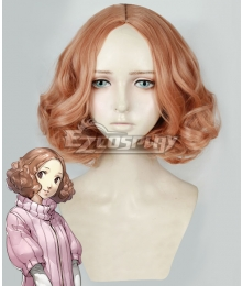 Persona 5 Haru Okumura Orange Cosplay Wig