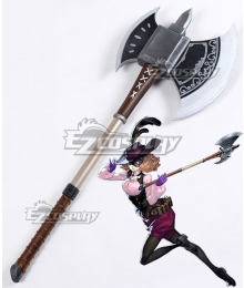 Persona 5 Noir Haru Okumura Axe Cosplay Weapon Prop - B Edition