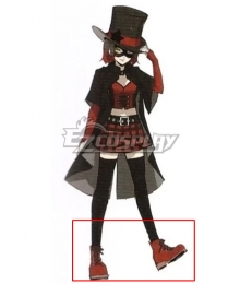 Persona 5 Scramble: The Phantom Strikers Zenkichi Hasegawa Wolf Black Cosplay Shoes