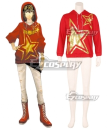 Persona 5:Dancing Star Night Goro Akechi Dancing All Night DLC Hoodie Cosplay Costume - Only Hoodie