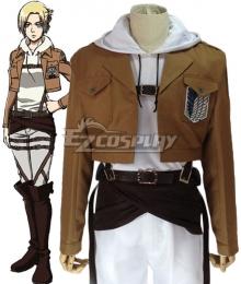 Attack on Titan Shingeki no Kyojin Annie Leonhart Training Corps Cosplay Costume