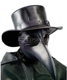 Plague Doctor Halloween Hat Cosplay Accessory Prop