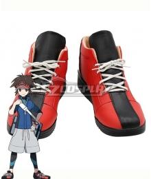 Pokémon Black White 2 Pokemon Pocket Monster Nate Red Cosplay Shoes