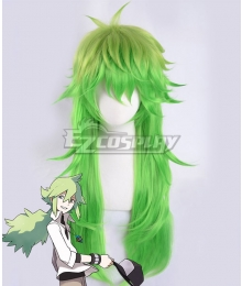 Pokémon Black White Pocket Monster Natural Harmonia Gropius N Green Cosplay Wig