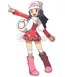 Pokémon Diamond and Pearl Pokemon Platinum Dawn Cosplay Costume