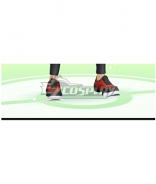 Pokémon GO Pokemon Pocket Monster Trainer Male Red Black Cosplay Shoes