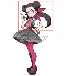 Pokémon Omega Ruby and Alpha Sapphire Roxanne Brown Cosplay Wig