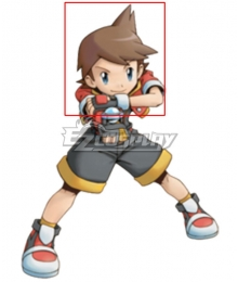 Pokémon Pokemon Ranger: Shadows of Almia Kellyn Brown Cosplay Wig