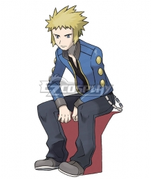 Pokémon Pokemon Volkner Cosplay Costume