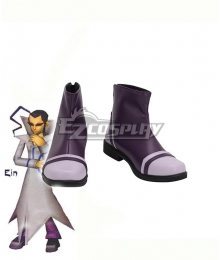 Pokemon Colosseum Ein Black Cosplay Shoes