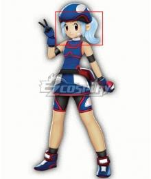 Pokemon Marina Light Blue Cosplay Wig
