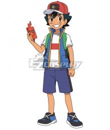 Pokemon Pokémon Pocket Monsters 2019 Anime Series Ash Ketchum Cosplay Costume