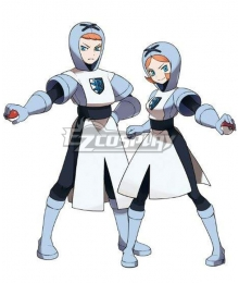 Pokemon Pokémon Black and White Team Plasma Cosplay Costume
