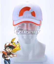 Pokemon Pokémon: Let's Go, Pikachu! Pokémon: Let's Go, Eevee!‎ Male Trainer Chase Hat Cosplay Accessory Prop
