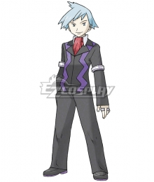 Pokemon Pokémon Steven Stone  Daigo Tsuwabuki Additional Version Cosplay Costume