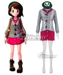 Pokemon Pokémon Sword and Pokémon Shield Female Trainer Cosplay Costume