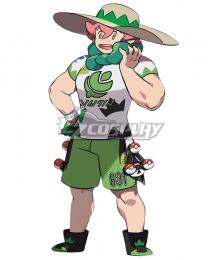 Pokemon Pokémon Sword And Pokémon Shield Milo Cosplay Costume