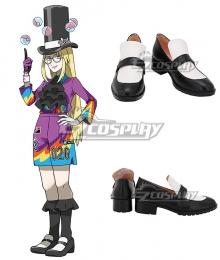 Pokemon Pokémon Sword And Shield Klara White Purple Cosplay Shoes