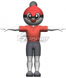 Pokemon Pokémon Sword And Shield Ball Guy Cosplay Costume