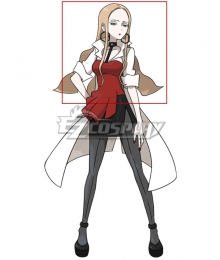 Pokemon Pokémon Sword And Shield Oleana Golden Cosplay Wig