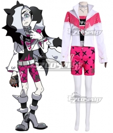 Pokemon Pokémon Sword And Shield Piers Cosplay Costume