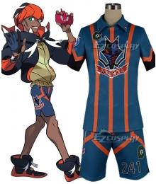 Pokemon Pokémon Sword and Shield Raihan Hammerlocke's Gym Cosplay Costume