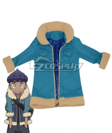 Pokemon Pokémon Sword And Shield Rival Hop Coat Cosplay Costume