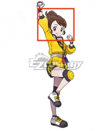 Pokemon Pokémon Sword and Pokémon Shield Female Trainer The Isle of Armor Brown Cosplay Wig