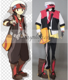 Pokemon Pocket Monster Ruby Cosplay Costume