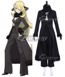 Pokemon Sun and Moon Cynthia Cosplay Costume