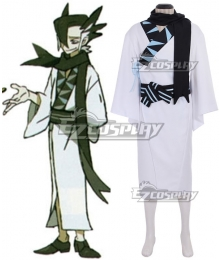 Pokemon Sun and Moon Grimsley Cosplay Costume