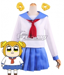 Pop Team Epic Poputepipikku Popuko Cosplay Costume