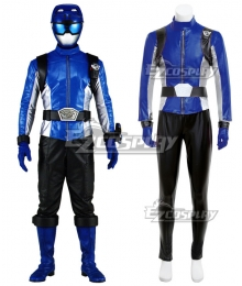 Power Rangers Beast Morphers Beast Morphers Blue Cosplay Costume